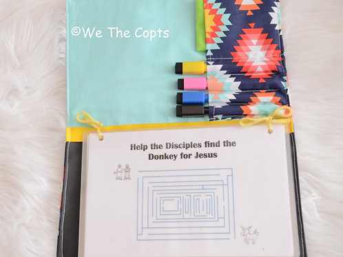 Holy Week Dry Erase Activity Sheets