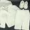 Thumbnail: Crochet white set for boys