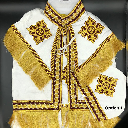 Coptic Baptism Gown Set