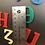 Thumbnail: Magentic Coptic Letters