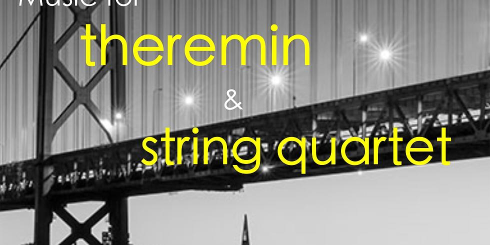 Concert with Friction string quartet