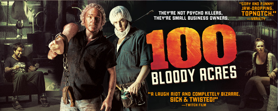 100 Bloody Acres Banner