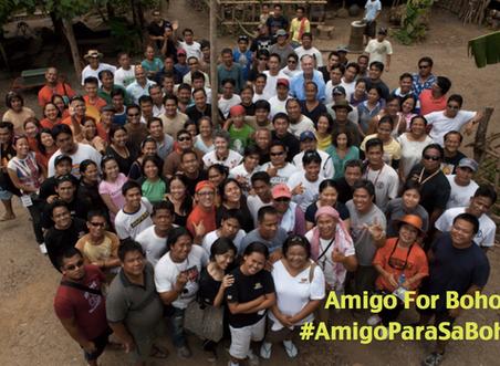 #AmigoParaSaBohol (Amigo for Bohol)