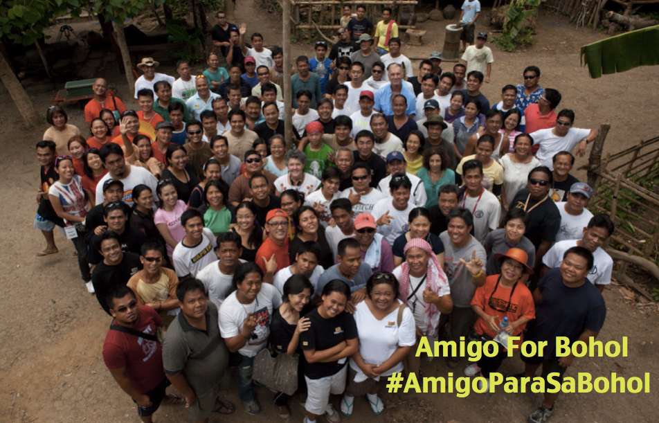 Members of the AMIGO cast and crew