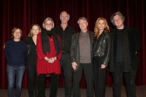 From left to right: Kelly Reichardt, Jodie Foster, Kristi Zea, John Sayles, Ron Bozman, Jenny Lumet and Raymond De Felitta
