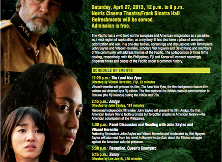 Upcoming Amigo Screening and Panel at USC