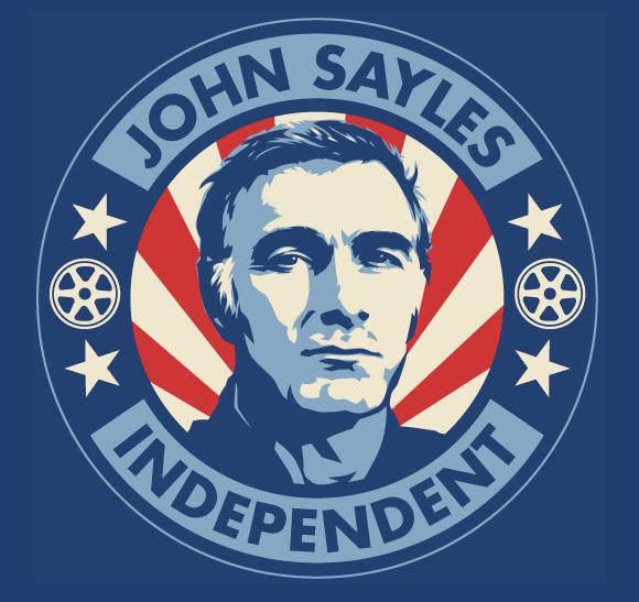 John Sayles logo by Shepard Fairey
