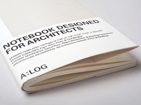 A:LOG, the Notebook Designed for Architects