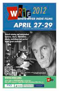 John and Maggie attend the White River Indie Films Festival in Vermont