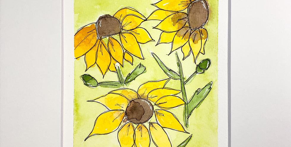 Sunflower Flora