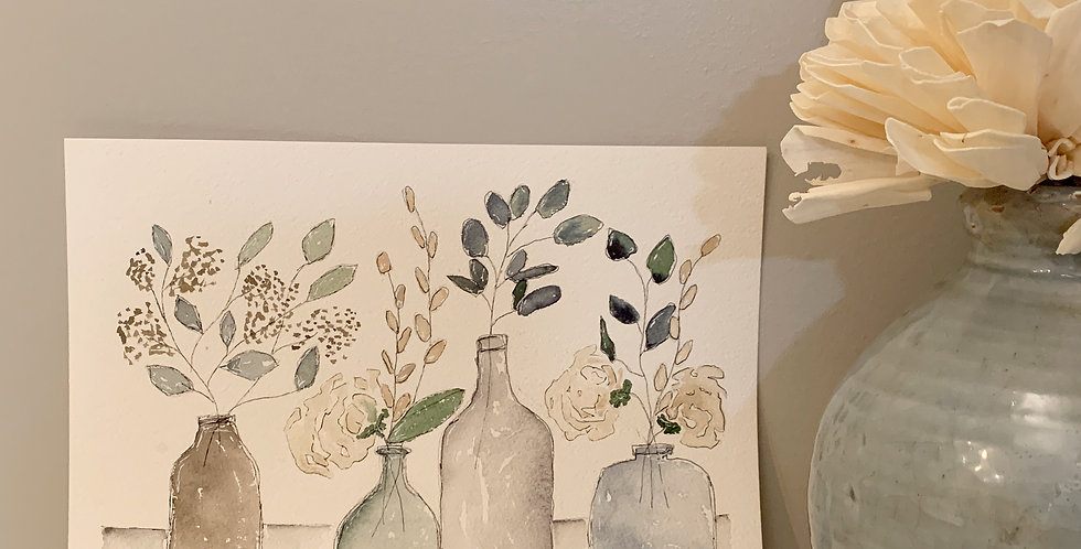Florals en Bottles