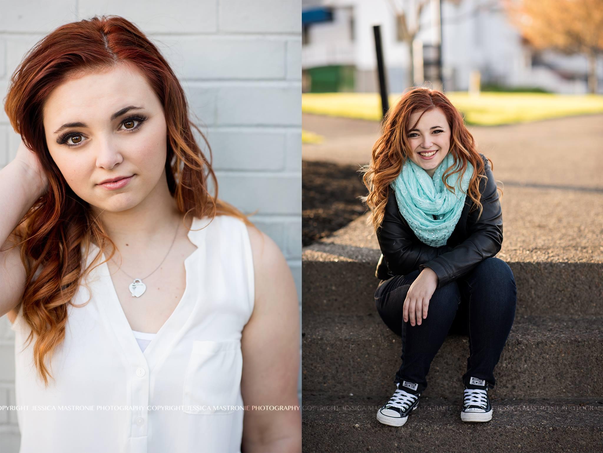 Highschool Portrait Makeup