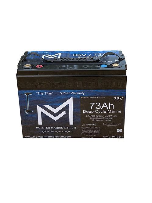"36V 73Ah Trolling Battery MML-3673B ""Titan"""