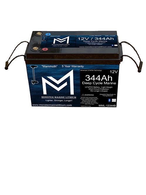 12v 344Ah Deep cycle MML-12344B Bluetooth