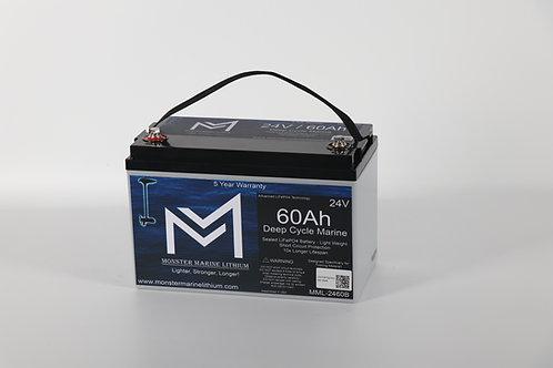 24V 60Ah trolling battery MML-2460C no meter or bluetooth