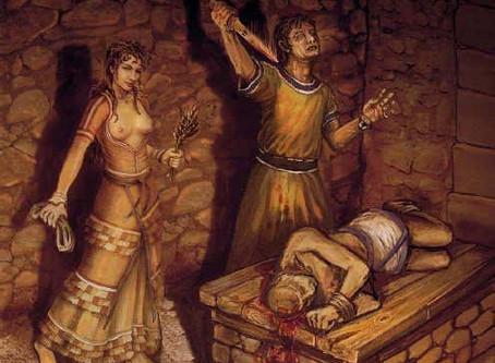 El sacrificio humano inmortalizado por un terremoto en la Creta minoica