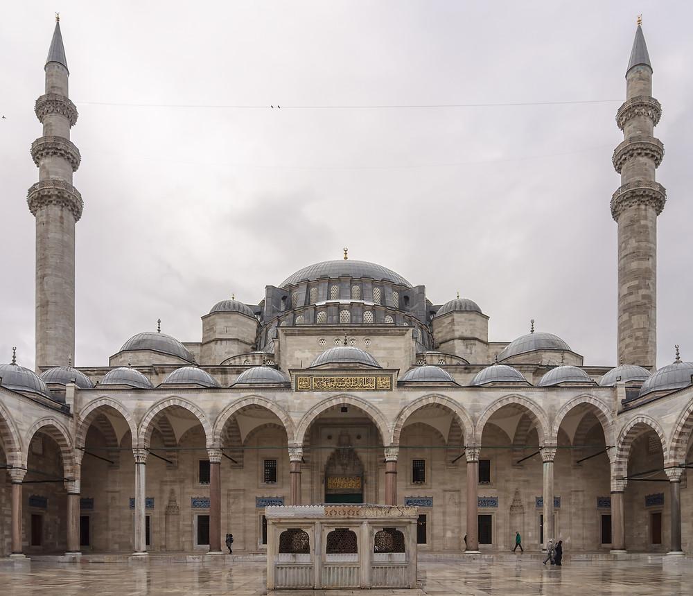 Mezquita de Solimán o mezquita de Süleymaniye