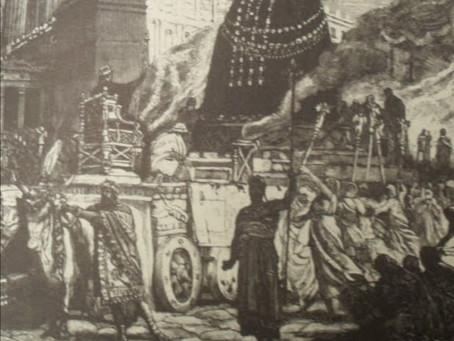 El-Gabal: el meteorito sirio que fue llevado a Roma y adorado como Sol Invictus