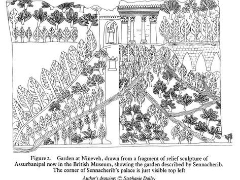 Los Jardines Colgantes...¿de Babilonia o de Nínive?
