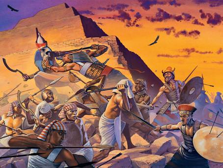 La guerra de los impuros: la guerra civil de los seguidores del dios Seth contra el orden tebano