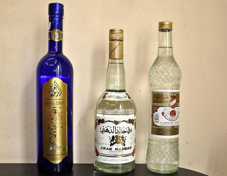 Botellas de Arak