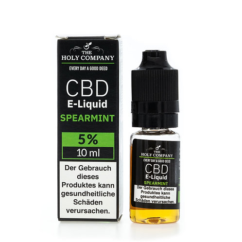 The Holy Company E-Liquid 5% - 10ml - Spearmint