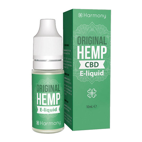 Harmony Original Hemp CBD E-Liquid 10ml - 0,3% 3mg pro ml