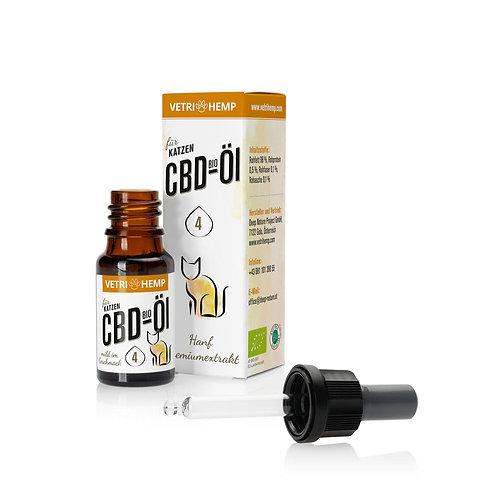 Vetrihemp CBD Öl für Katzen und empfindliche Tiere 4% CBD 10ml