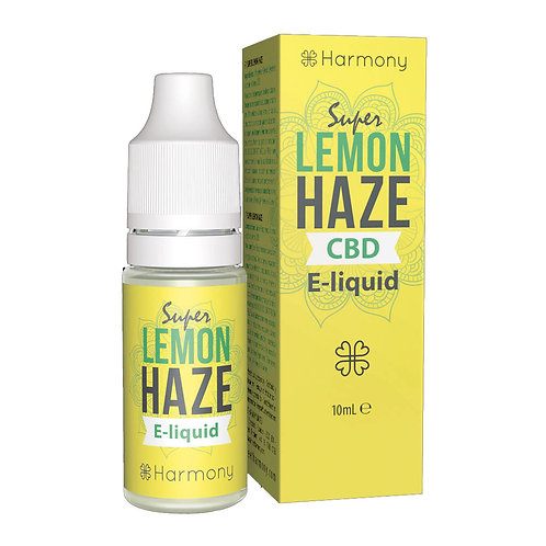 Harmony Super Lemon Haze CBD E-Liquid 10ml - 1% 10mg pro ml