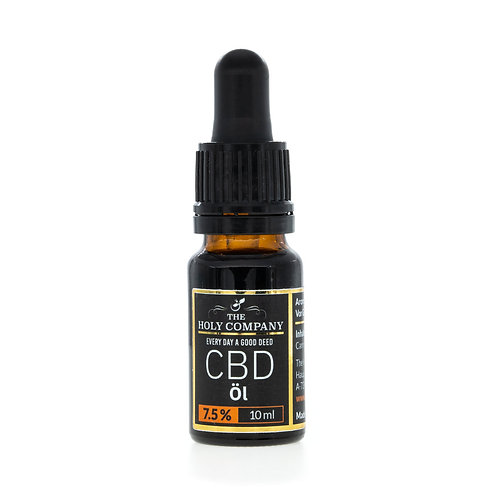 CBD Aromaöl The Holy Company 7,5% Kürbiskernöl 10ml