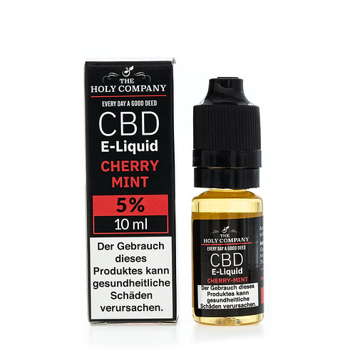 The Holy Company E-Liquid 5% - 10ml - Cherry Mint