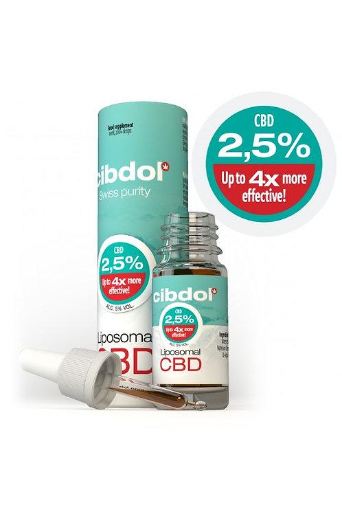 Liposomales CBD Öl 2.5%