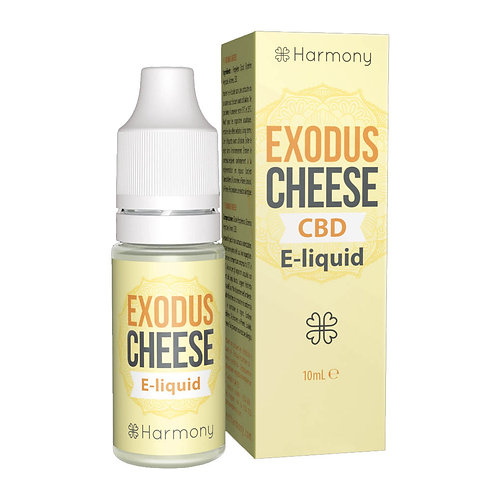 Harmony Exodus Cheese CBD E-Liquid 10ml - 0,3% 3mg pro ml
