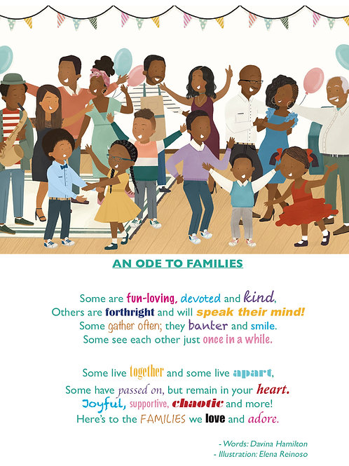 An Ode To Families