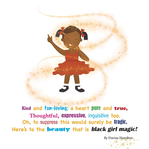 Black Girl Magic Poem