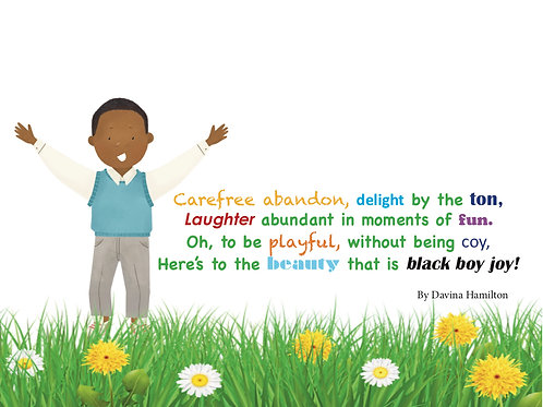 Black Boy Joy Poem
