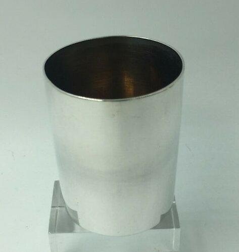 Russian silver vodka cup beaker St Petersburg c1900 Yokav Nikolayevich Lyapunov