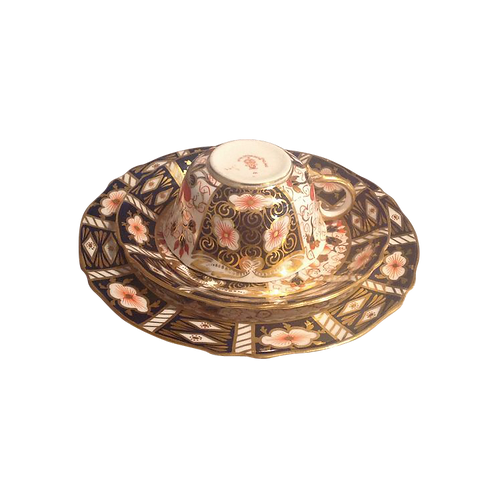 Royal Crown Derby Trio 1910 - 1915