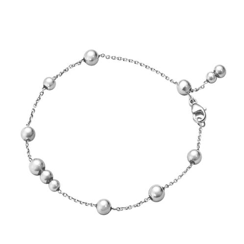 Super New Georg Jensen Grape Bracelet Sterling Silver