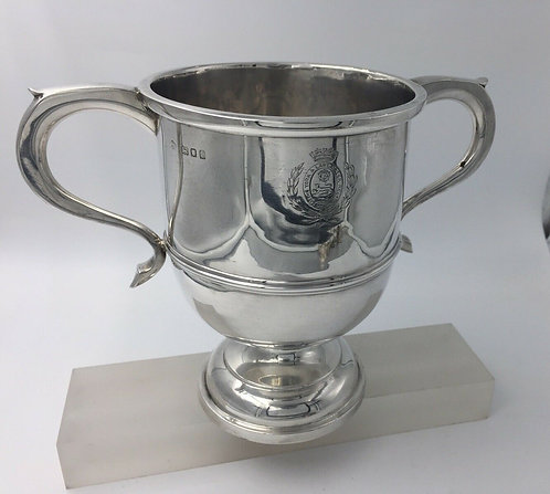 Silver Military Trophy York and Lancaster Regiment Hallmarked 1924