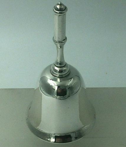 Scottish silver Table bell Edinburgh Hamilton and Inches 1907