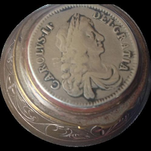 Charles II snuff box 1670