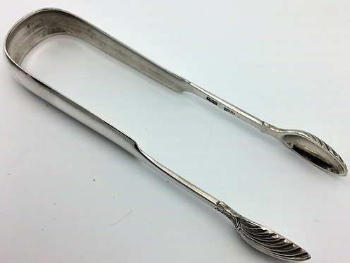 Scottish provincial silver Perth Sugar tongs Charles Murray c1825