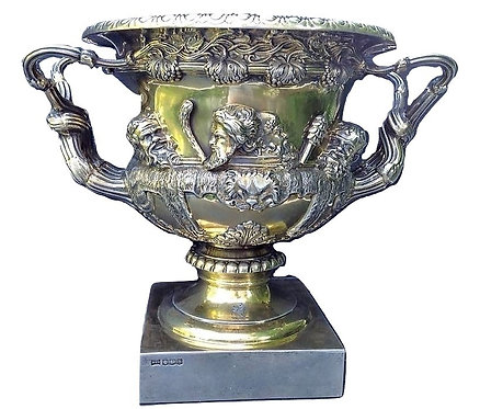 Silver Warwick Vase Walker and Hall 1919