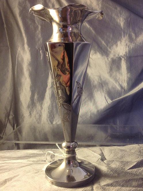 Chinese silver vase Wang Hing c1890