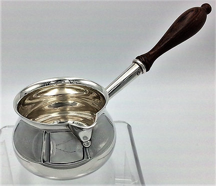 Silver Brandy Warming Pan 1978