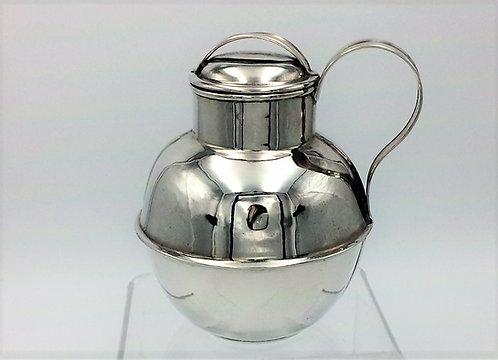 Silver Jersey P Le Geyt Hallmarked Birmingham 1901