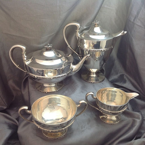 Scottish Silver Tea Service