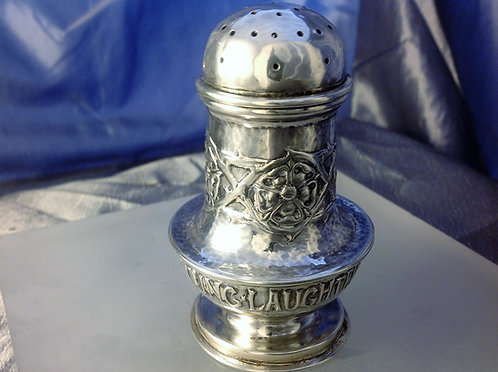Early Ramsden & Carr Silver pepper pot 1900