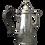 Thumbnail: Victorian silver coffee pot London 1897